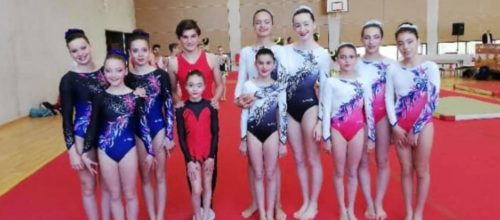 Résultats du Week-end en gym acrobatique et trampoline: